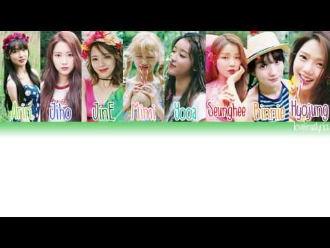 OH MY GIRL - 한여름의 크리스마스 (Christmas in Summer) - Color Coded Lyrics (Han/Rom/Eng)